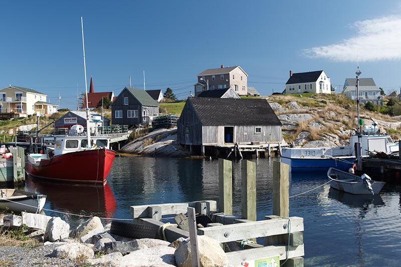 peggys cove in Atlantic Canada