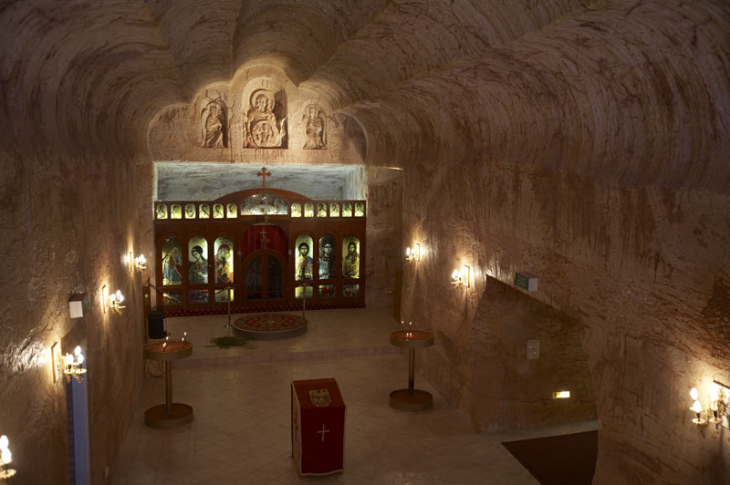 seeing the underground chapel is a must do in Coober Pedy