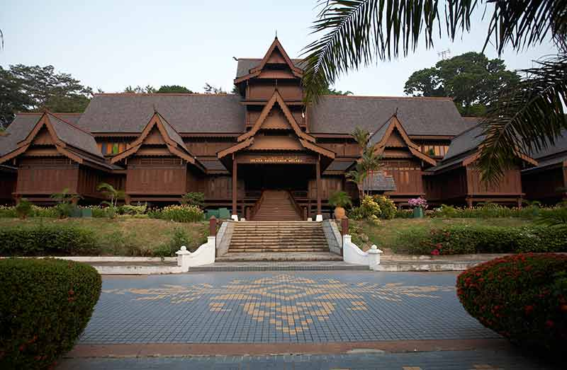 Malacca attractions at the Melaka Cultural Museum