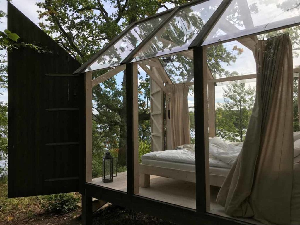 Sweden Itinerary Dalsland Glass Cabin
