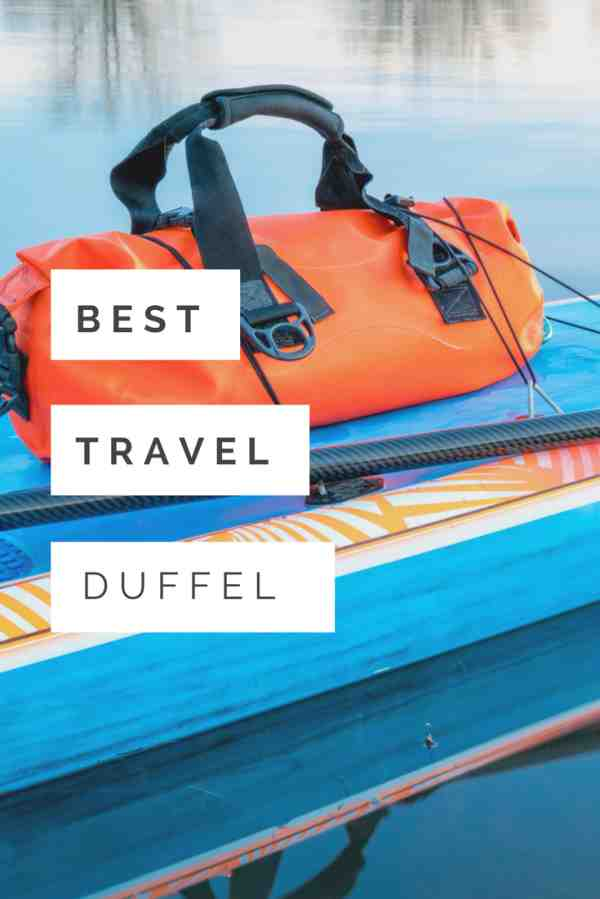 best waterproof travel duffel