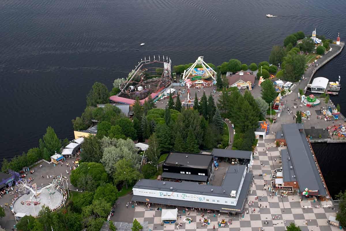 finnish landmarks Sarkanniemi 4