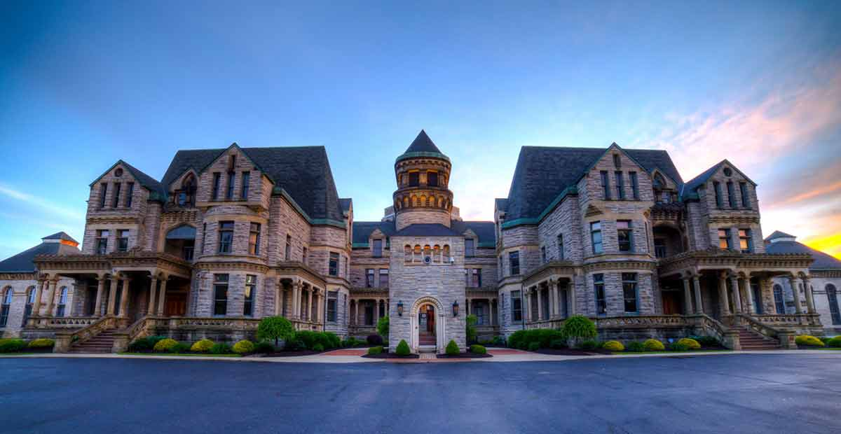 ohio landmarks and tourist attractions - Ohio State Penitentiary and Reformatory